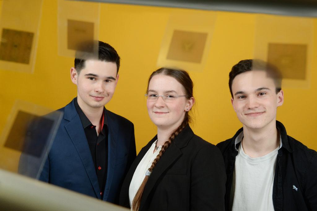 Nils Lißner, Susanne Schmidt, Julian Reichardt (von lks.)